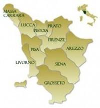 Mappa-Toscana
